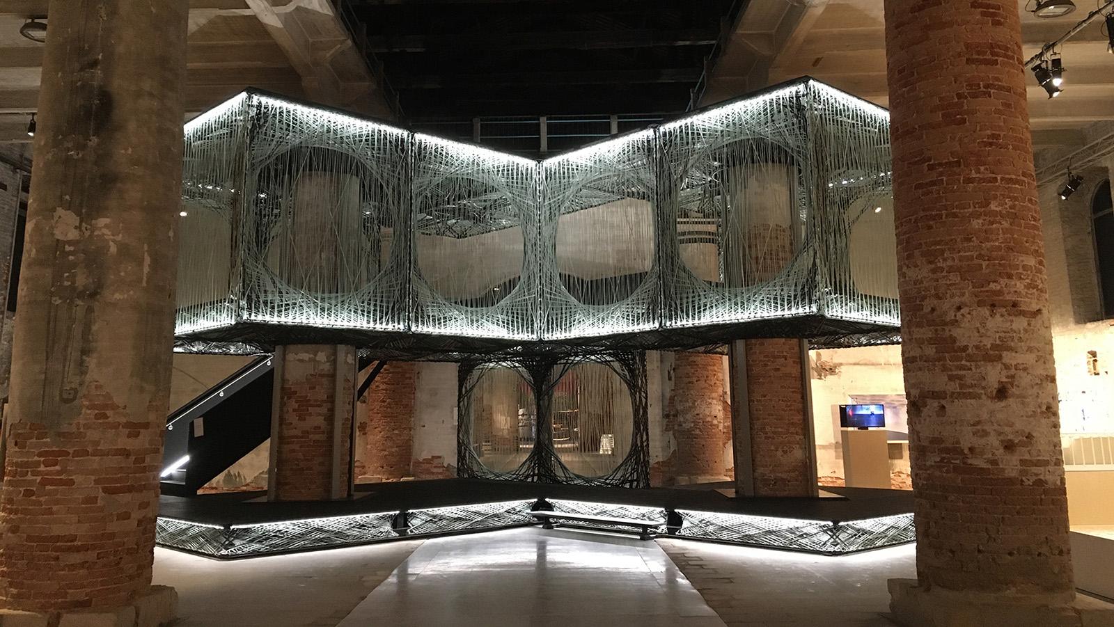 Besichtigung der Architektur Biennale 2021